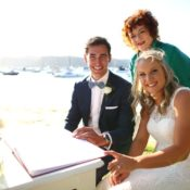 Cricket Stars Beach Wedding