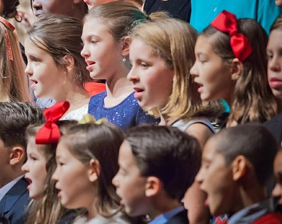 Singing is the best way to teach children music in schools