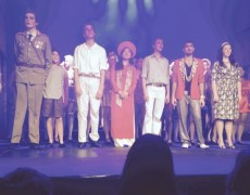 Justine in Miss Saigon leading role