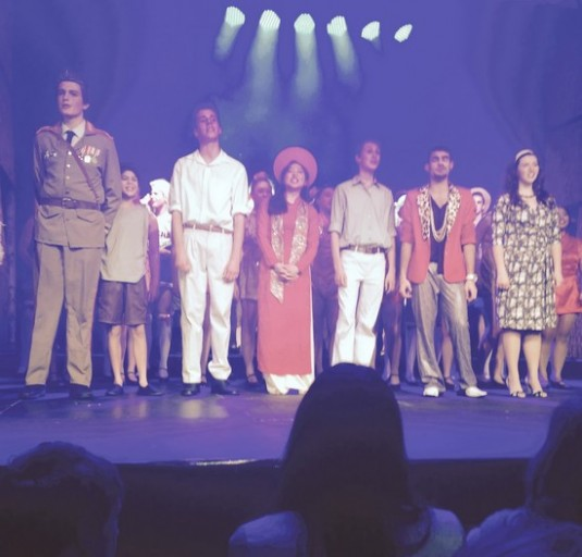 Student in leading role of Miss Saigon