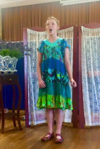 singing concert 2015 - Christine Beasley - Student Abira Harvey